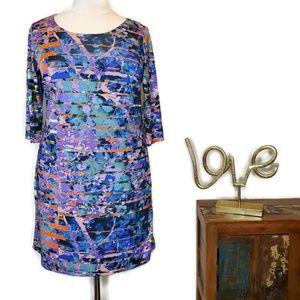 Triste Plus Dress Gwynnie Bee 3/4 Sleeve 1X